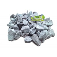 Мраморная крошка серо-голубая, фр. 10-30 мм