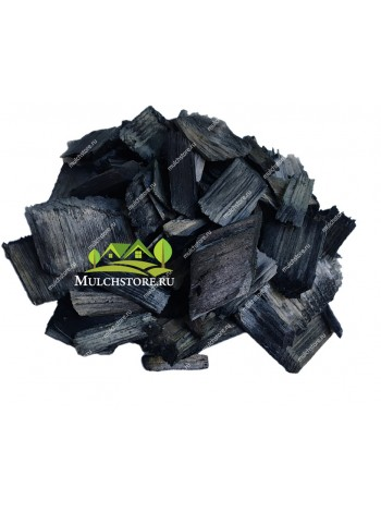 Щепа декоративная черная