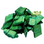 Щепа декоративная зеленая