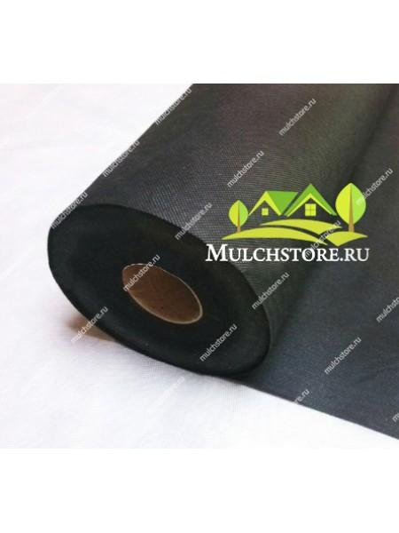 Геотекстиль спанбонд черный, 60 г/м2, ширина 1,6 м